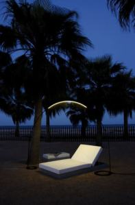 You need light at night....make a statement!  Vibia Inc.