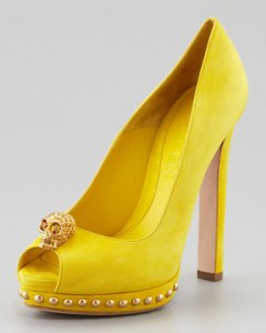 Fantastic Alexander McQueen peek a boo heels from Neiman Marcus...out of my budget...but I can dream!!!