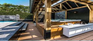 Can't have a pool party without an awesome Spa...Natural Design