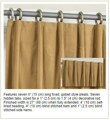 Curtains Ideas curtain panel styles : Fabulous Drapery Panels from FAAB | Evelyn's Blog
