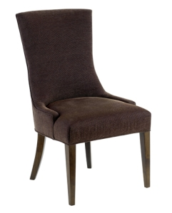 Clean lines form the contemporary world and the traditional lines of a classic captain chair